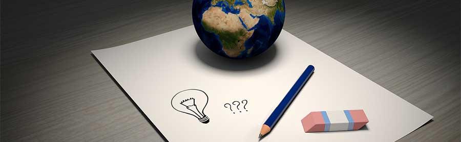 Interrogação, mundo e o cacd