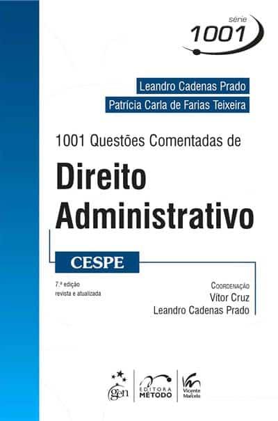 1001 Questões Comentadas de Direito Administrativo (CESPE)