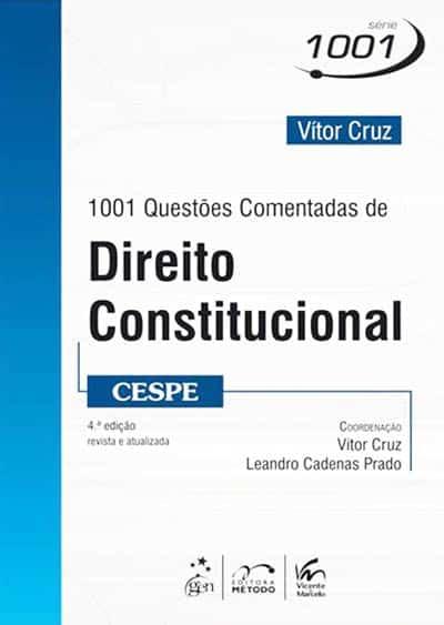 1001 Questões Comentadas de Direito Constitucional (CESPE)