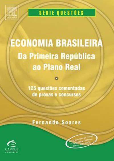 livro de economia brasileira para o CACD