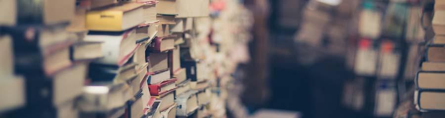 pilha de livros para o cacd