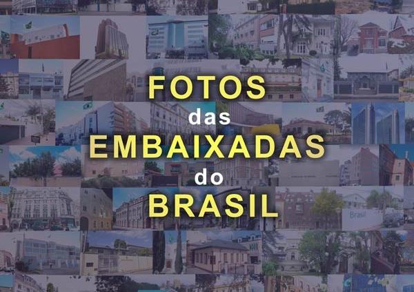 Embaixadas do Brasil