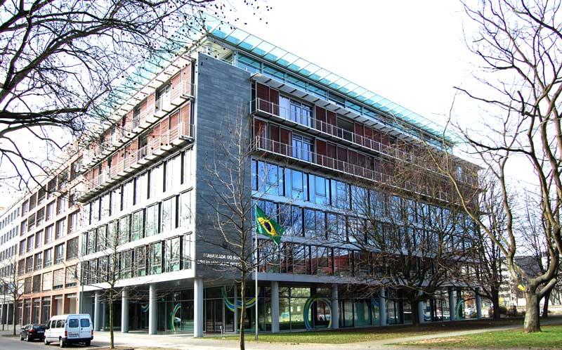 Embaixada do Brasil em Berlim, Alemanha