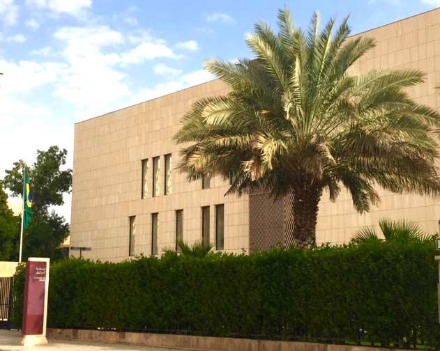 Embaixada do Brasil em Riade, Arábia Saudita
