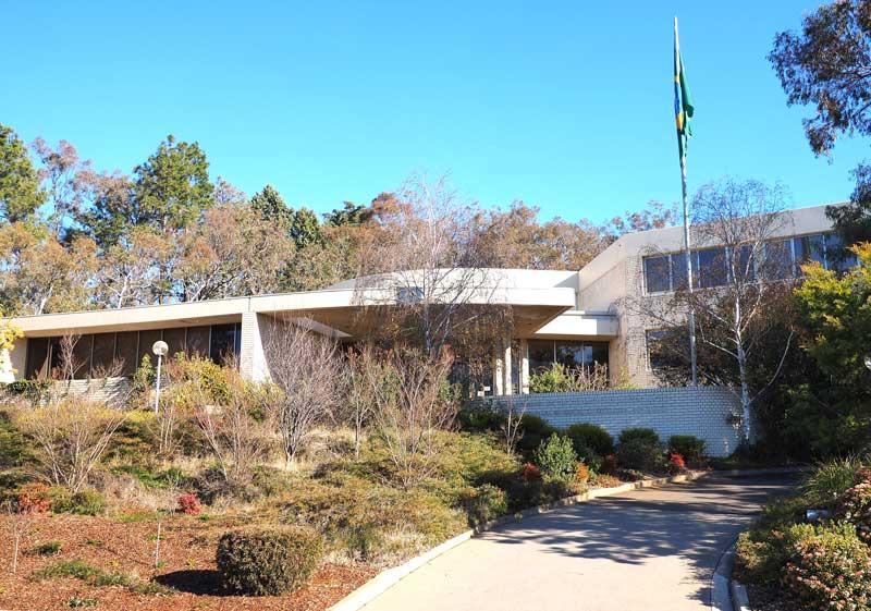 Embaixada do Brasil em Camberra, Austrália