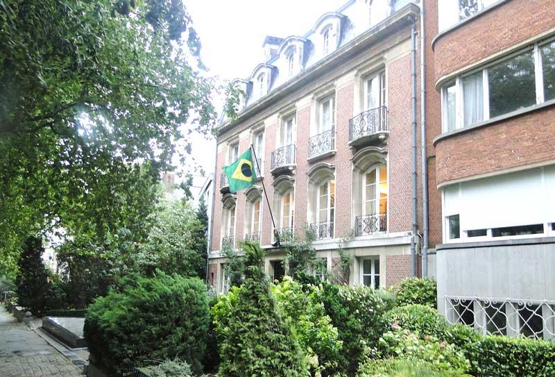 Embaixada do Brasil em Bruxelas, Bélgica