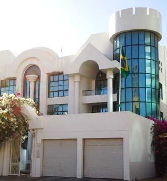 Embaixada Brasileira em Abu Dhabi, Emirados Árabes Unidos