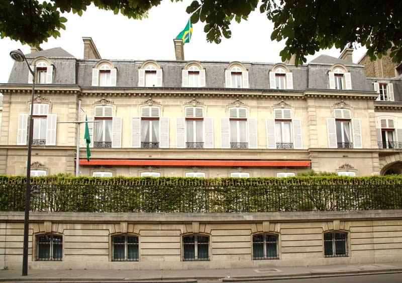 Embaixada do Brasil em Paris, França