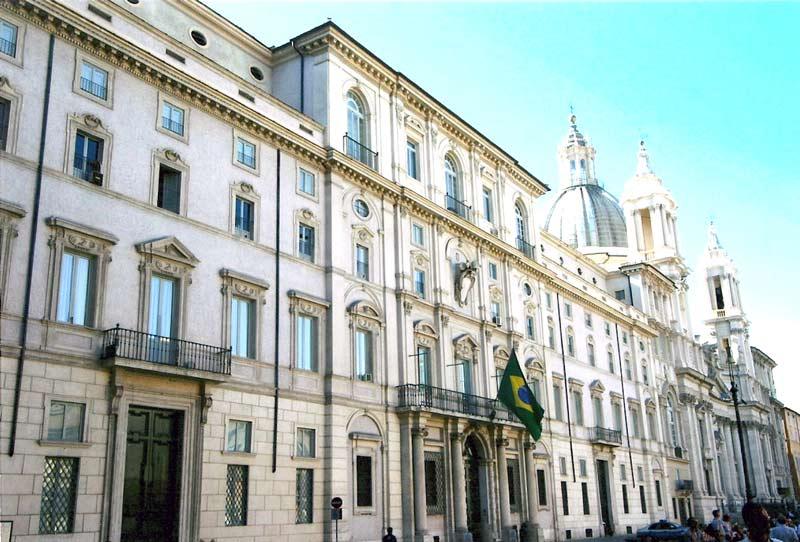 Embaixada do Brasil em Roma, Itália