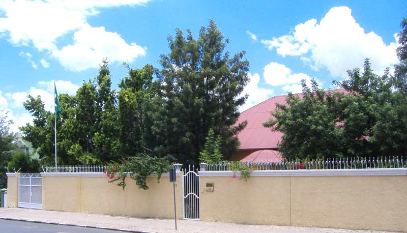 Embaixada do Brasil em Windhoek, Namíbia