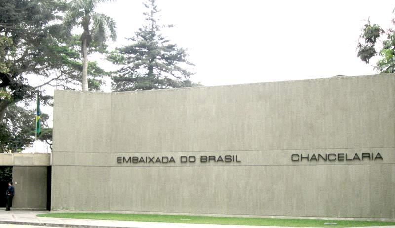 Embaixada do Brasil em Lima, Peru