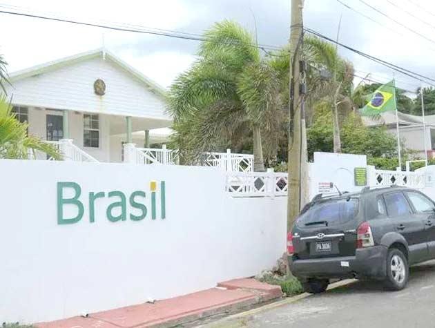 Embaixada do Brasil em Basseterre, São Cristóvão e Névis