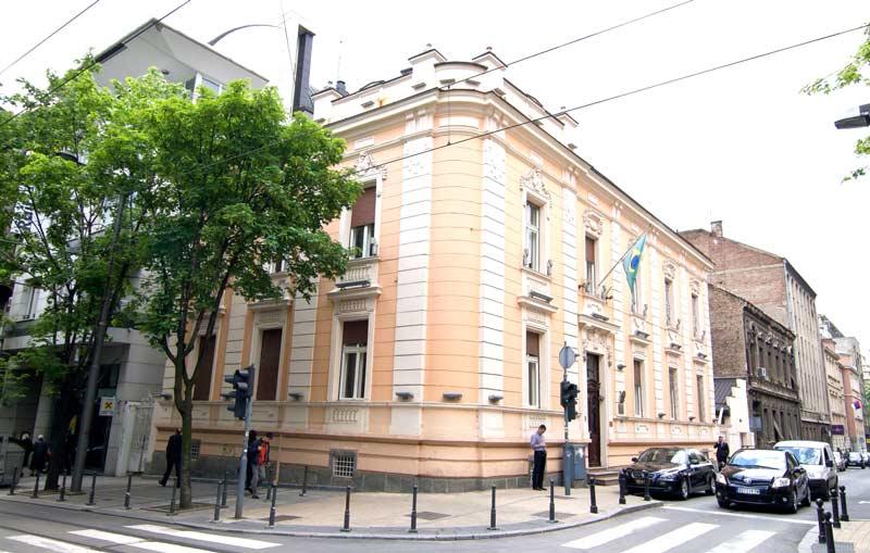 Embaixada do Brasil em Belgrado, Sérvia