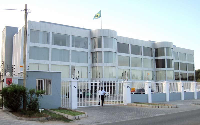Embaixada do Brasil em Dar es Salaam, Tanzânia
