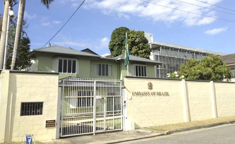 Embaixada do Brasil em Port of Spain, Trinidade e Tobago