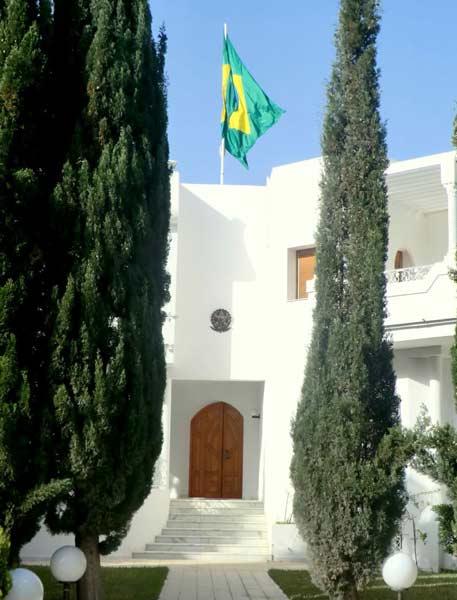 Embaixada do Brasil em Túnis, Tunísia