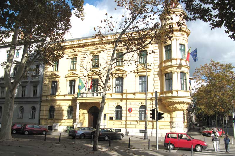 Embaixada do Brasil em Zagreb, Croácia