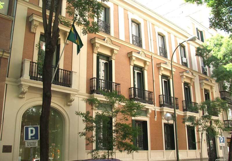Embaixada do Brasil em Madri, Espanha