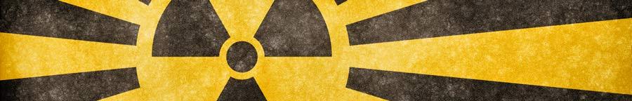 símbolo nuclear horizontal