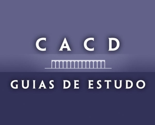 guias de estudo do CACD