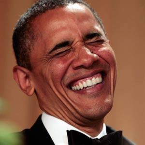 Obama sorrindo