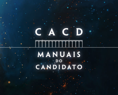 manual do candidato CACD