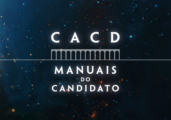manual do candidato CACD