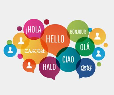 idiomas para o CACD
