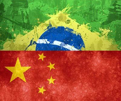 Bandeiras Brasil China CACD