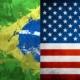 Bandeiras Brasil estados Unidos CACD