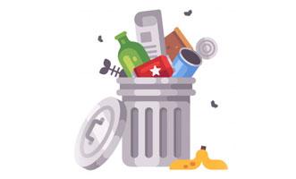 lata de lixo